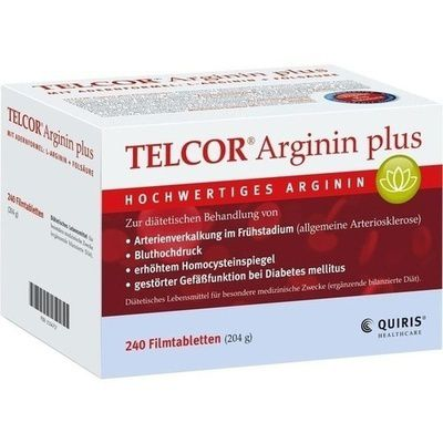 telcor arginin plus filmtabletten 240 st arteriosklerose. Black Bedroom Furniture Sets. Home Design Ideas