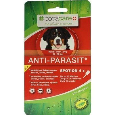 bogacare anti parasit spot on hund gro 4x2 5 ml fl he. Black Bedroom Furniture Sets. Home Design Ideas