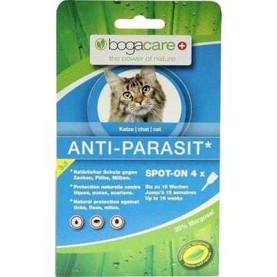bogacare anti parasit spot on katze ml fl he parasiten entwurmung katzen. Black Bedroom Furniture Sets. Home Design Ideas